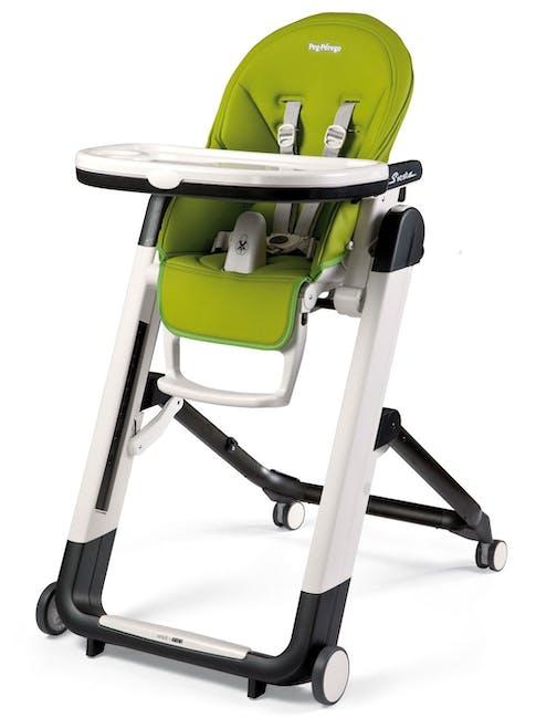 Chaise haute Siesta de Peg-Pérego - vert