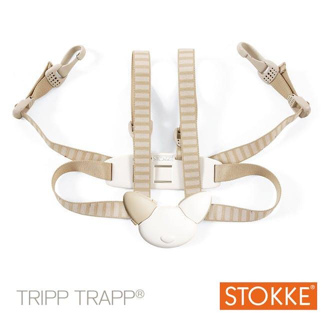Chaise haute Tripp Trapp de Stokke - harnais 5 points