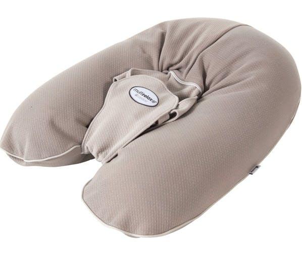Coussin d'allaitement MultiRelax + de Candide - jersey coton taupe ficelle