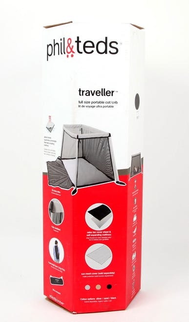 Lit de voyage Traveller Phil & Teds