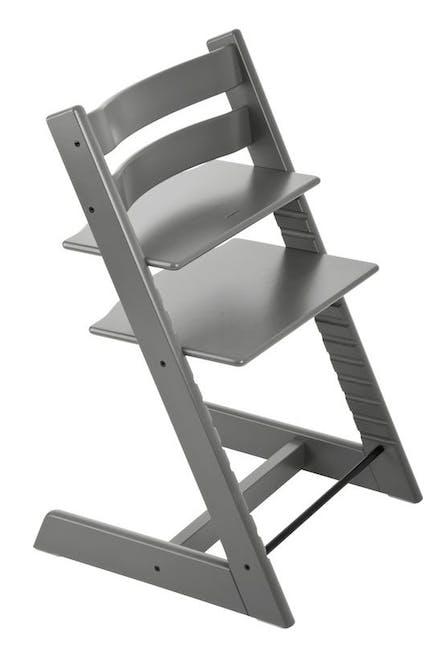 Chaise haute Tripp Trapp de Stokke - gris tempête