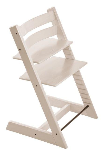 Chaise haute Tripp Trapp de Stokke - blanc délavé
