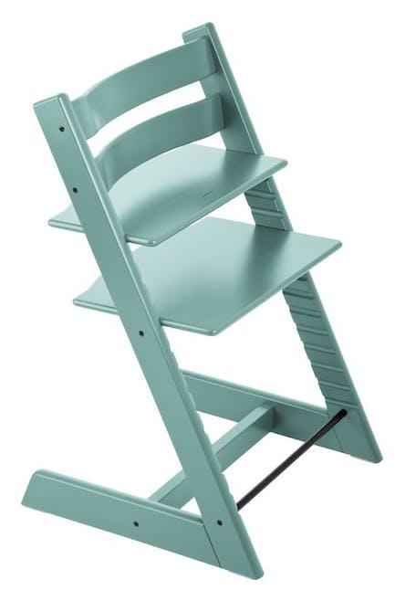 Chaise haute Tripp Trapp de Stokke - bleu aqua