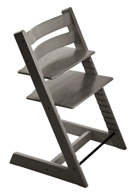 Chaise haute Tripp Trapp de Stokke - gris brume