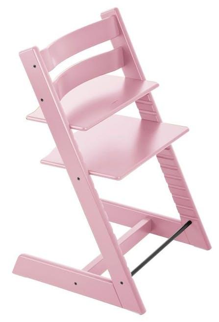 Chaise haute Tripp Trapp de Stokke - rose layette