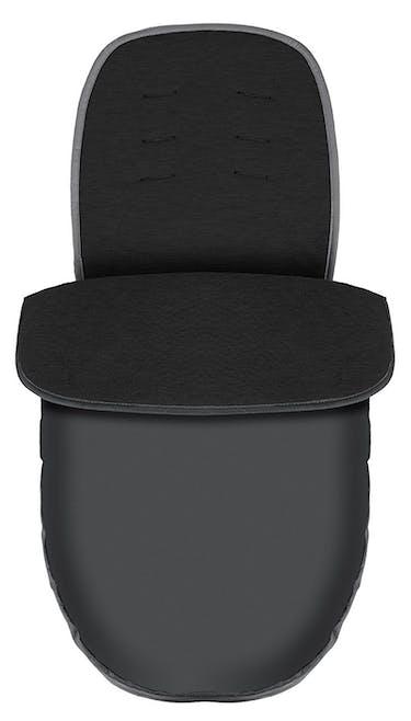 Poussette Duo Travel System Evo de Graco - chancelière noir