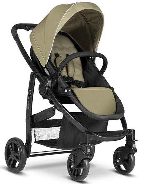 Poussette Duo Travel System Evo de Graco - kaki