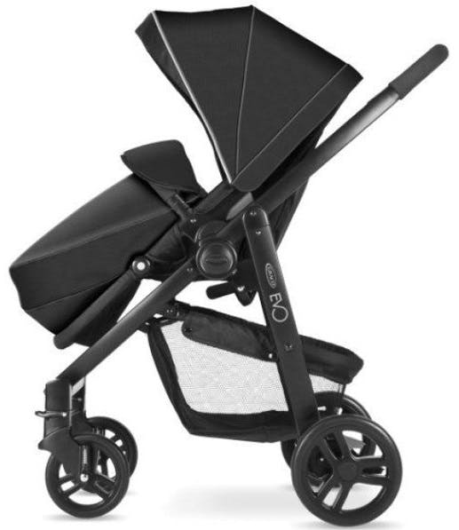 Poussette Duo Travel System Evo de Graco - noir