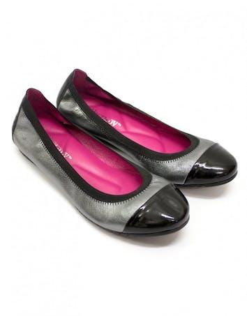 Ballerines métallisées Shoe Therapy