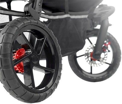 Poussette double Powertwin Pro de Jané - roues