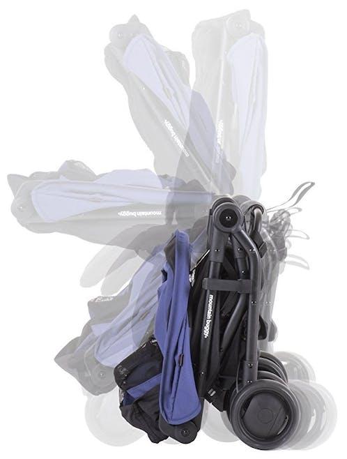 Poussette Nano V2 de Mountain Buggy - pliage compact pliée