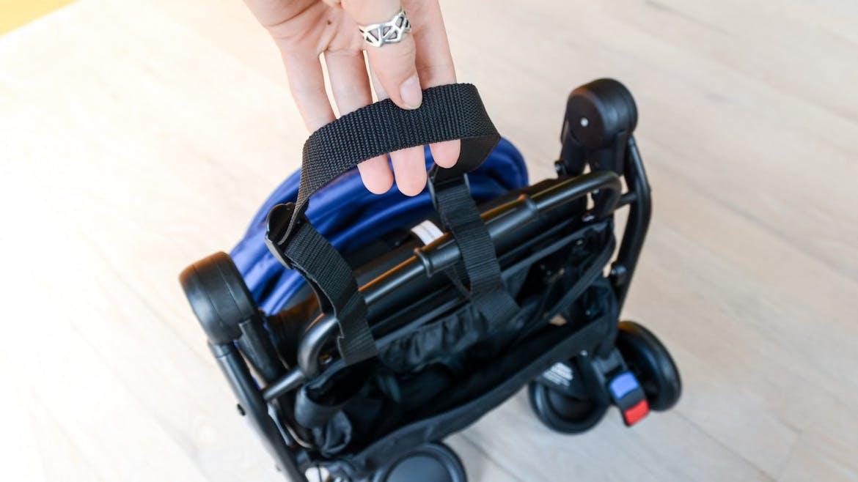 Poussette Nano V2 de Mountain Buggy - portage portée main