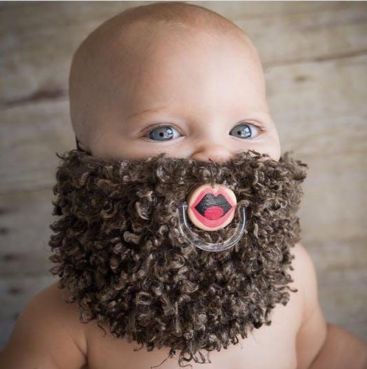 bébé barbu
