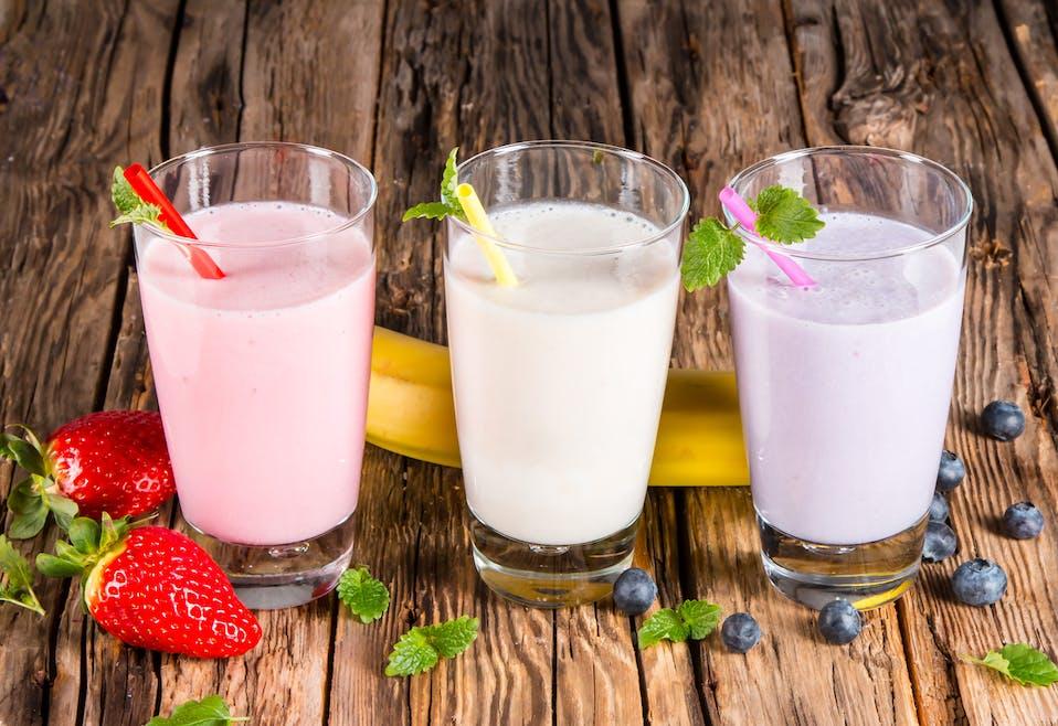 Milk-shake : un mariage de saveurs