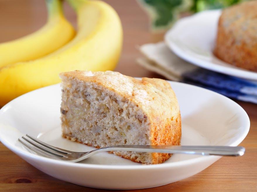 Cake à la banane : pour un goûter plein d'énergie !