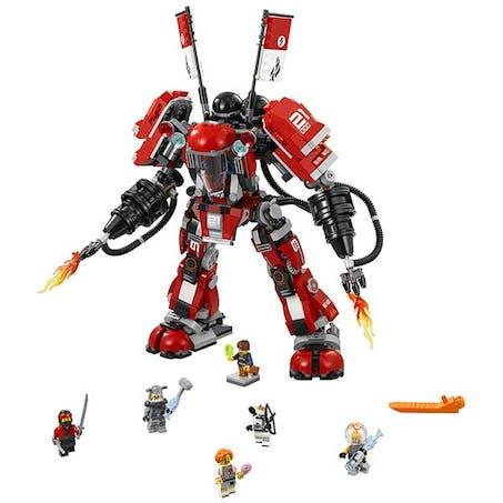 Robot Ninjago L'armure de feu, 36 cm, Lego, 69,99 e.