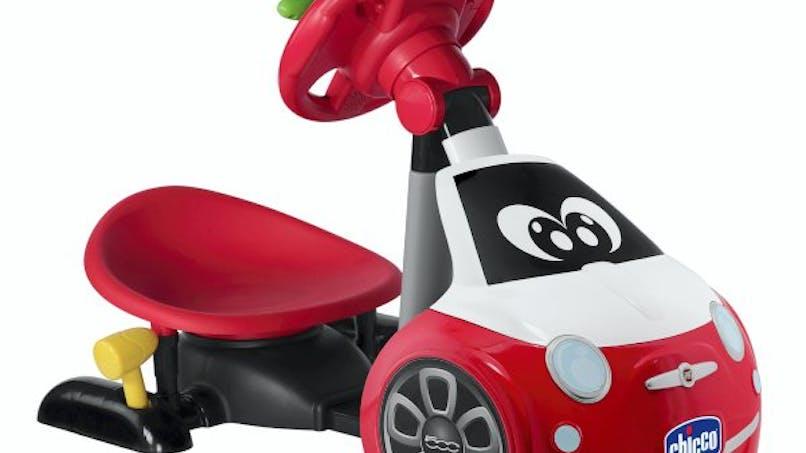 Simulateur de conduite, Chicco chez JouéClub, 59,99 €. Dès 2 ans.