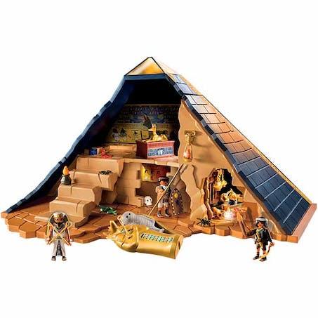 La pyramide du Pharaon, Playmobil, 59,99 €. Dès 6 ans.