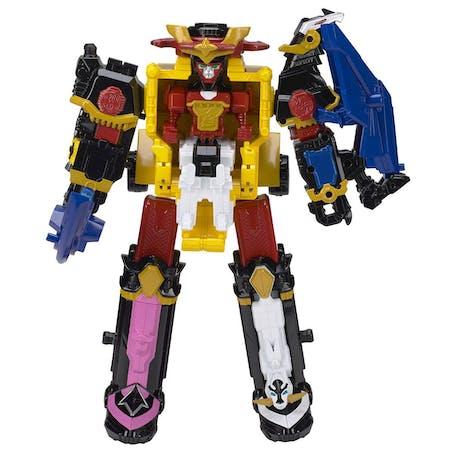 Robot Megazord Ninja Steel, Bandai, 39,99 €. Dès 4 ans.