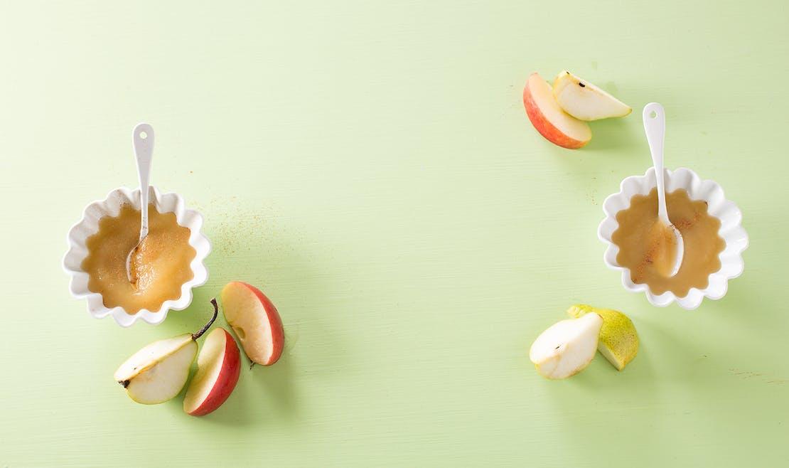 Compote poire pomme