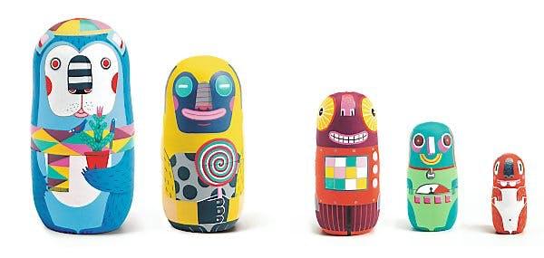Robots gigognes Animachkas, Djeco, 30 e.