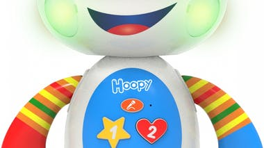 Hoopy, robot interactif articulé, Ouaps, 35 € .
