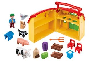 Ferme transportable 1 2 3 Playmobil