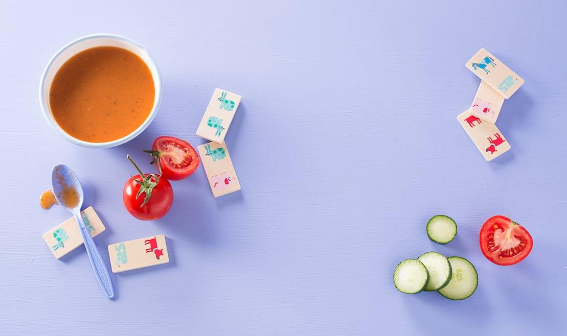 Gaspacho à la tomate - dès 12 mois