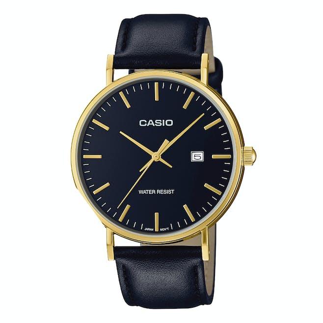montre or et noir marque Casio