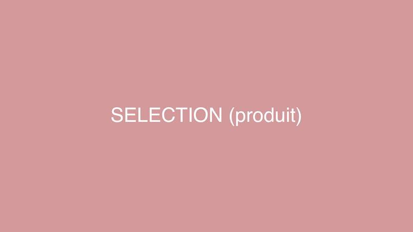 Z - Demo - Sélection produits