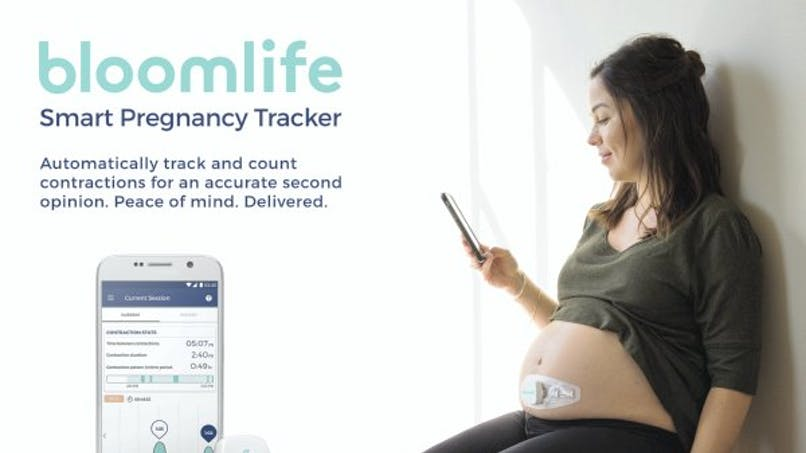 Bloomlife, l'objet connecté qui mesure les contractions  des femmes enceintes