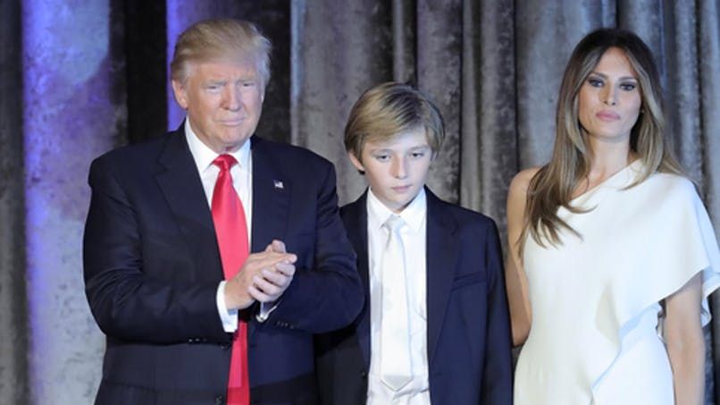 Le fils de Donald Trump critiqué : Chelsea Clinton prend   sa défense