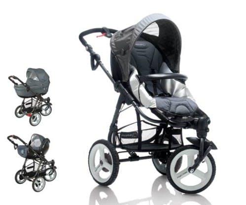 Poussette 3 roues High Trek de Bébé Confort - trio nacelle cosy