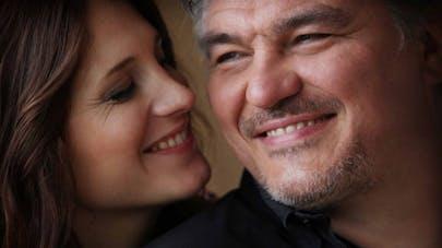 David Douillet et Vanessa