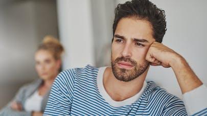 couple homme triste - Stérilité masculine