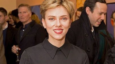 Scarlett Johansson maman