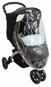 Pack Duo Poussette 3 roues de Tex Baby - habillage pluie