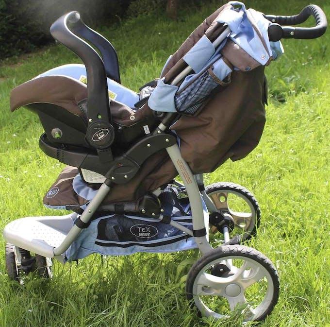 Pack Duo Poussette 3 roues de Tex Baby - siège auto cosy 0+