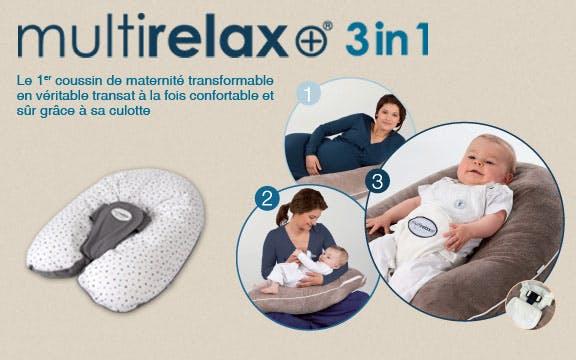Coussin d'allaitement MultiRelax de Candide