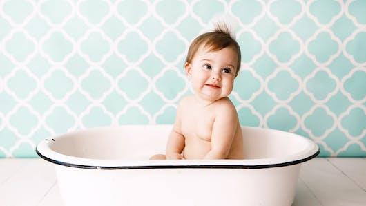 Tout ce qu'il faut savoir sur le bain des bébés