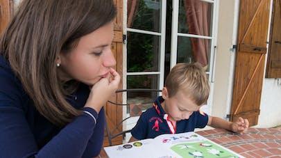 maman enfant cahier vacances