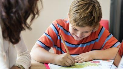 parent enfant cahier vacances