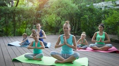 cours de yoga parents enfants