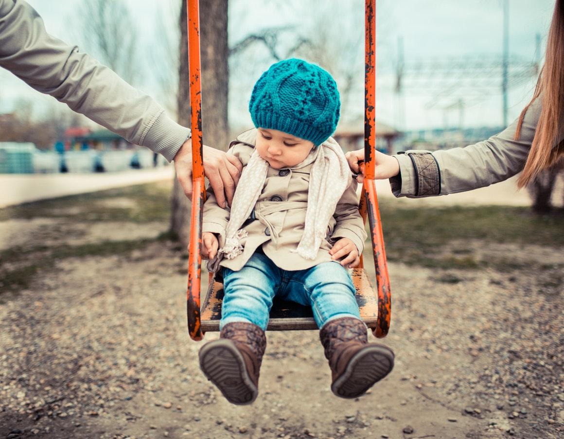 divorcer avec un bébé