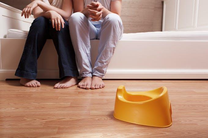 parents attendent pot