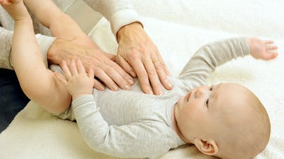 kiné respiratoire bébé