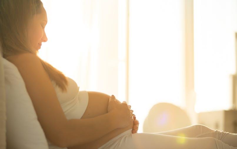 femme enceinte repos