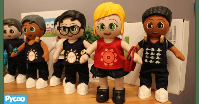 Ensemble de poupées Pycoo