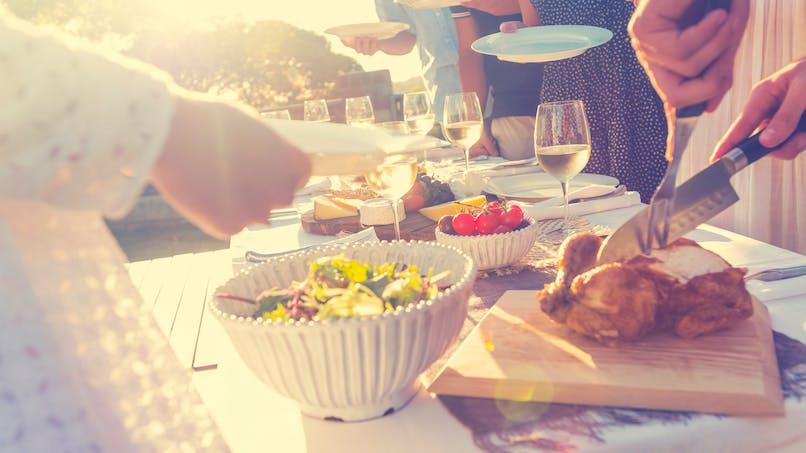Repas équilibrés pour l'été
