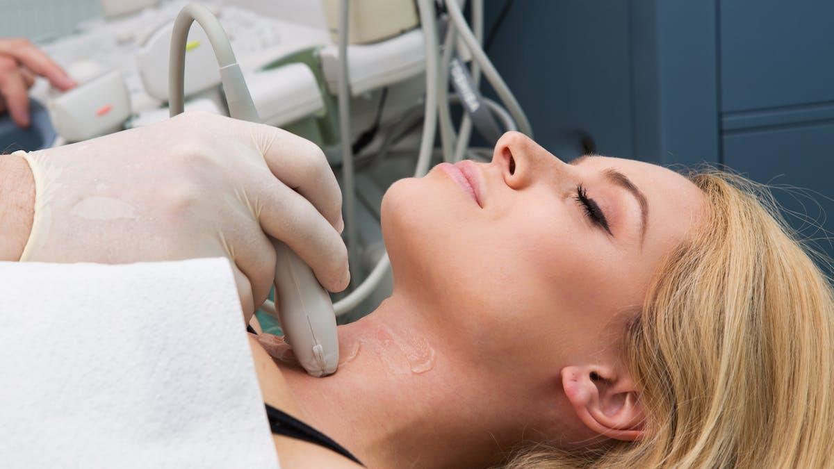échographie thyroide